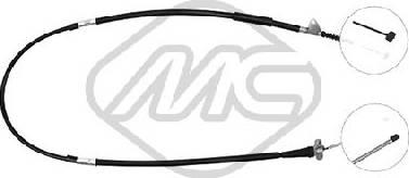 Metalcaucho 83426 - Трос, стояночная тормозная система sparts.com.ua