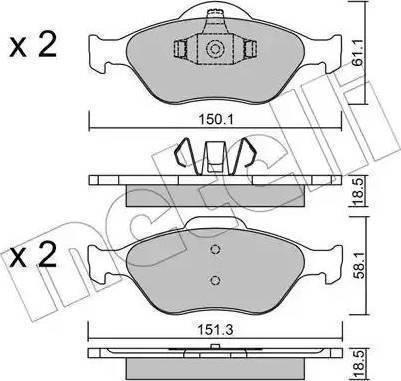 A.B.S. 37195 - Тормозные колодки, дисковые sparts.com.ua