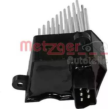 Metzger 0917015 - Блок управления, отопление / вентиляция sparts.com.ua