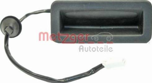 Metzger 2310516 - Ручка крышки багажника /помещения для груза sparts.com.ua