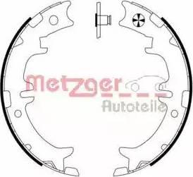 Metzger MG 958 - Комплект тормозов, ручник, парковка sparts.com.ua