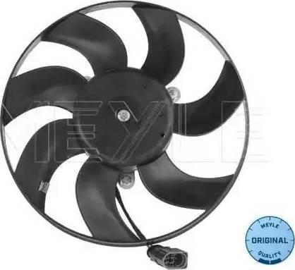 Meyle 100 236 0050 - Вентилятор, охлаждение двигателя sparts.com.ua