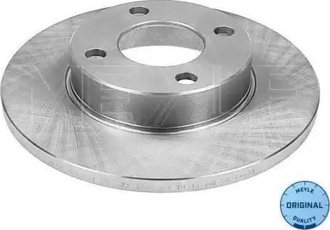 Meyle 115 521 1014 - Тормозной диск sparts.com.ua