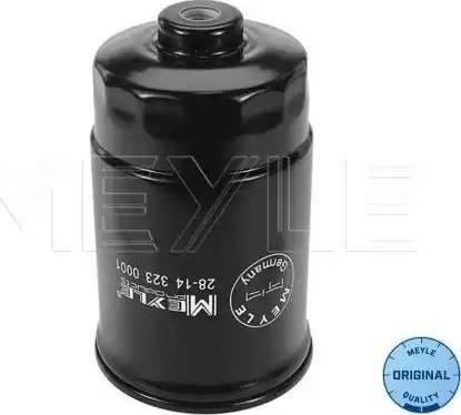Meyle 28143230001 - Топливный фильтр sparts.com.ua