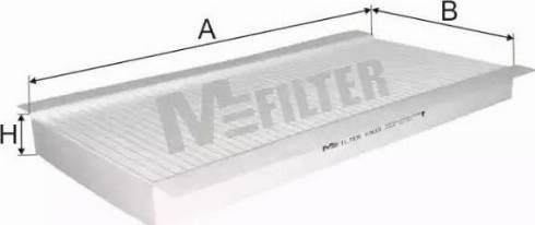Mfilter K933 - Фильтр воздуха в салоне sparts.com.ua