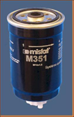 MISFAT M351 - Топливный фильтр sparts.com.ua