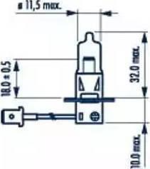 Narva 48321 - Лампа накаливания, фара с автоматической системой стабилизации sparts.com.ua