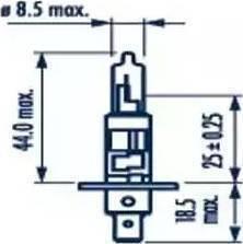 Narva 48320 - Лампа накаливания, фара с автоматической системой стабилизации sparts.com.ua