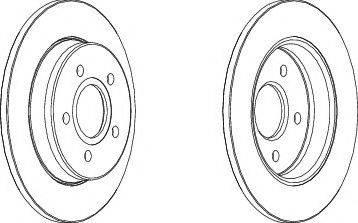 A.B.S. 17638 - Тормозной диск sparts.com.ua