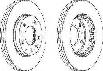 A.B.S. 17095 - Тормозной диск sparts.com.ua
