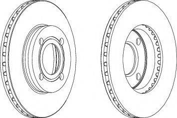 A.B.S. 15745 - Тормозной диск sparts.com.ua