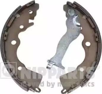 Nipparts N3500530 - Комплект тормозных башмаков, барабанные sparts.com.ua