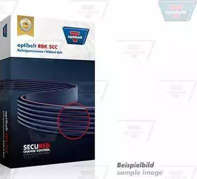 Optibelt 5 PK 1250 SCC - Поликлиновые ремни (продолные рёбра) sparts.com.ua