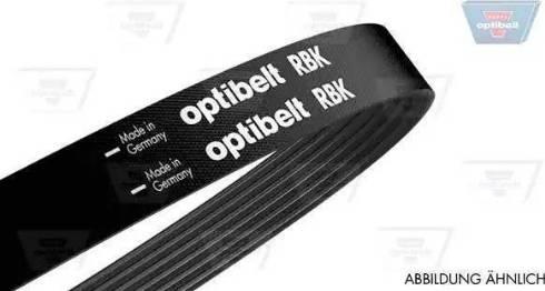 Optibelt 6 PK 1025 - Поликлиновые ремни (продолные рёбра) sparts.com.ua