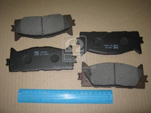 Parts-Mall PKF-019 - Тормозные колодки, дисковые sparts.com.ua