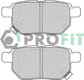 Profit 5000-4042 - Тормозные колодки, дисковые sparts.com.ua