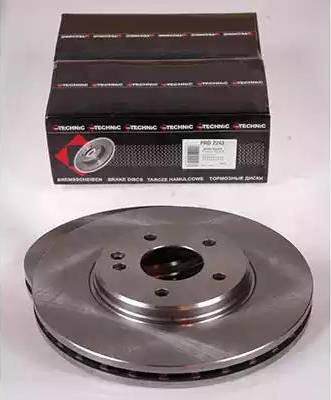 Protechnic PRD2243 - Тормозной диск sparts.com.ua