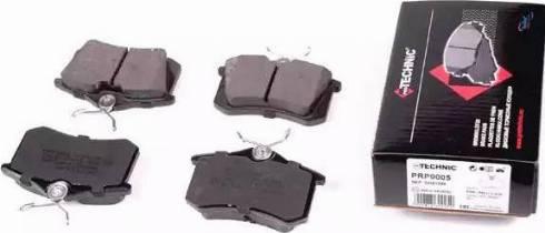 Protechnic PRP0005 - Тормозные колодки, дисковые sparts.com.ua