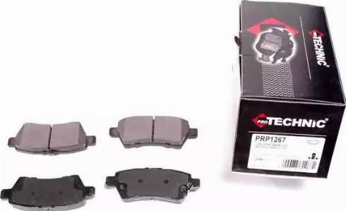 Protechnic PRP1267 - Тормозные колодки, дисковые sparts.com.ua