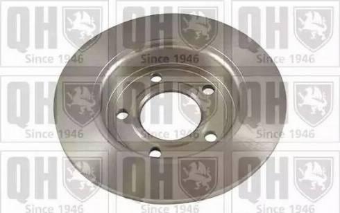 Quinton Hazell BDC5491 - Тормозной диск sparts.com.ua