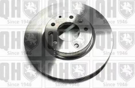 Quinton Hazell BDC5756 - Тормозной диск sparts.com.ua