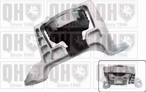 Quinton Hazell EM4606 - Подушка, подвеска двигателя sparts.com.ua