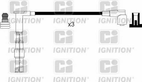 Quinton Hazell XC881 - Комплект проводов зажигания sparts.com.ua