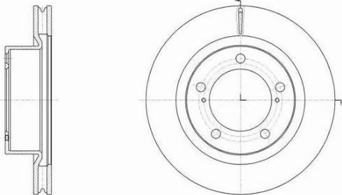 A.B.S. 17983 - Тормозной диск sparts.com.ua
