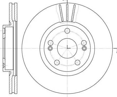 Roadhouse 6301.10 - Тормозной диск sparts.com.ua