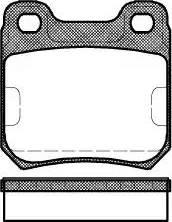 Roadhouse 2239.10 - Тормозные колодки, дисковые sparts.com.ua