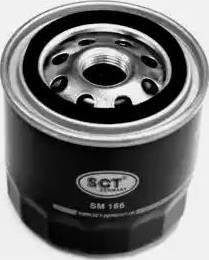SCT Germany SM 166 - Масляный фильтр sparts.com.ua