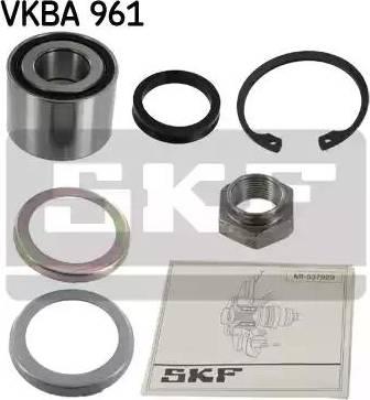 SKF VKBA 961 - Комплект подшипника ступицы колеса sparts.com.ua