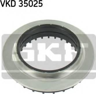 SKF VKD 35025 - Подшипник качения, опора стойки амортизатора sparts.com.ua