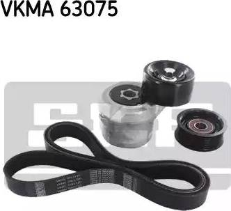 SKF VKMA 63075 - Поликлиновый ременный комплект sparts.com.ua