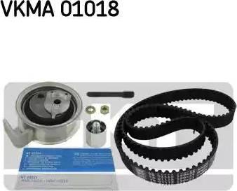 SKF VKMA01018 - Комплект ремня ГРМ sparts.com.ua
