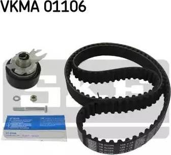 SKF VKMA01106 - Комплект ремня ГРМ sparts.com.ua