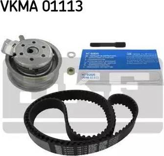 SKF VKMA01113 - Комплект ремня ГРМ sparts.com.ua