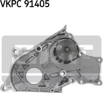 SKF VKPC 91405 - Водяной насос sparts.com.ua