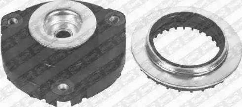 KYB SM1708 - Ремкомплект, опора стойки амортизатора sparts.com.ua