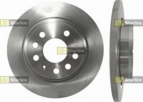 Starline PB 1585 - Тормозной диск sparts.com.ua