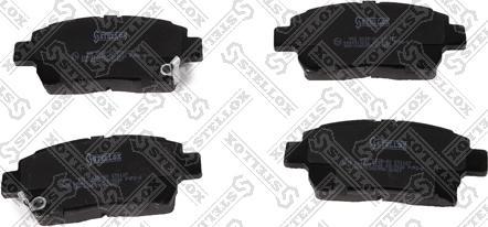 Stellox 982 002B-SX - Тормозные колодки, дисковые sparts.com.ua