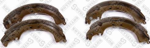 Stellox 096100SX - Комплект тормозных башмаков, барабанные sparts.com.ua