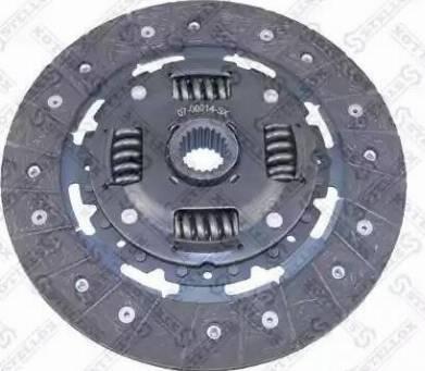 Stellox 07-00014-SX - Диск сцепления, фрикцион sparts.com.ua