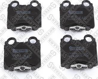 Stellox 754 004B-SX - Тормозные колодки, дисковые sparts.com.ua