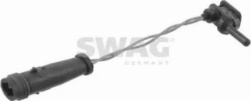 Swag 10919186 - Сигнализатор, износ тормозных колодок sparts.com.ua