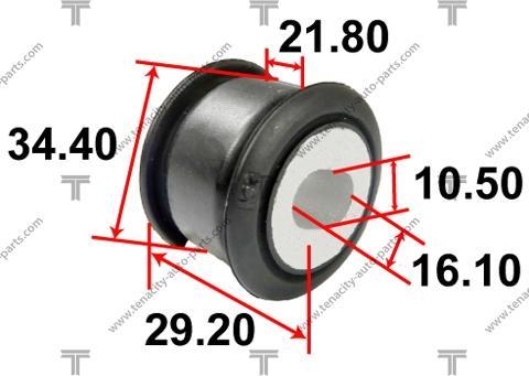 Tenacity AAMHO1055 - Втулка, вал рулевого колеса sparts.com.ua