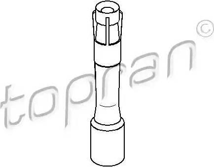 Topran 501 554 - Вилка, свеча зажигания sparts.com.ua