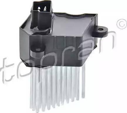 Topran 501518 - Регулятор, вентилятор салона sparts.com.ua