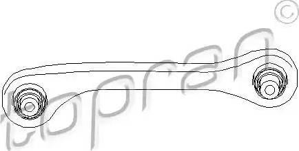 Topran 110 273 - Рычаг независимой подвески колеса sparts.com.ua