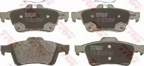 RIDER RD.3323.DB1621 - Тормозные колодки, дисковые sparts.com.ua